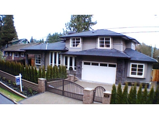 Main Photo: 2930 ALLAN RD in North Vancouver: Westlynn Terrace House for sale : MLS® # V1037626
