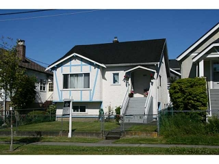 Main Photo: 4184 INVERNESS ST in Vancouver: Knight House for sale (Vancouver East)  : MLS(r) # V1075434