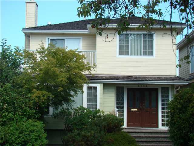 Main Photo: 2783 W 23RD AV in Vancouver: Arbutus House for sale (Vancouver West)  : MLS® # V924202