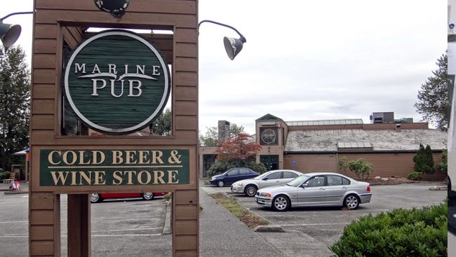 Main Photo: MARINE PUB AND LIQUOR STORE:5820 MARINE DRIVE in BURNABY: Home for sale (Burnaby South)