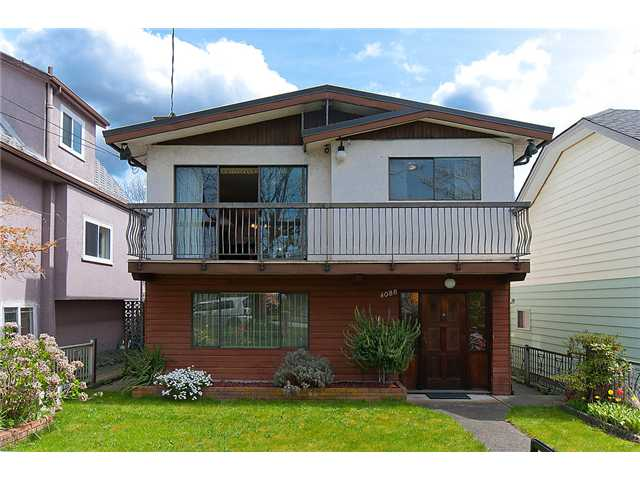 Main Photo: 4088 WELWYN ST in Vancouver: Victoria VE House for sale (Vancouver East)  : MLS® # V1004254