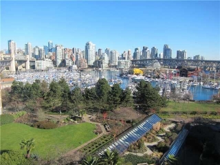 "Main Photo: 702 1470 PENNYFARTHING Drive in Vancouver: False Creek Condo for sale in ""TWO HARBOUR COVE"" (Vancouver West)  : MLS(r) # V1006870"