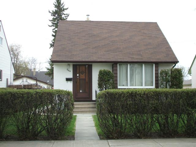 Main Photo: 566 Gareau Street in WINNIPEG: St Boniface Residential for sale (South East Winnipeg)  : MLS® # 1309563