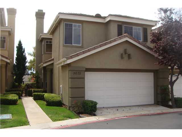 Main Photo: CARMEL VALLEY Home for sale or rent : 3 bedrooms : 3675 Ruette De Ville in San Diego