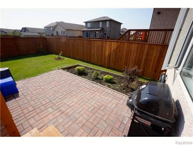 Photo 23: 72 Caribou Crescent in Winnipeg: South Pointe Single Family Detached for sale ()  : MLS® # 1609419