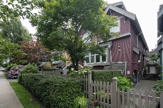 Main Photo: 1642 GRANT STREET in Vancouver: Grandview VE Townhouse for sale (Vancouver East)  : MLS(r) # R2092024