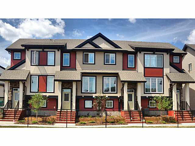 Main Photo: 12 1776 Cunningham Way in Edmonton: Townhouse for sale : MLS® # e3422353