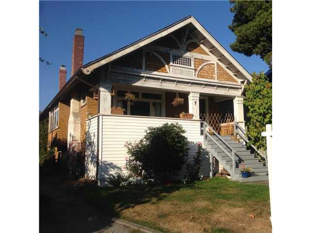 Main Photo: 7 E 21ST Avenue in Vancouver: Main House for sale (Vancouver East)  : MLS®# V975139