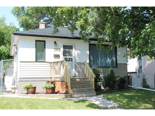 Main Photo: 392 Truro Street in WINNIPEG: St James Residential for sale (West Winnipeg)  : MLS® # 1419603