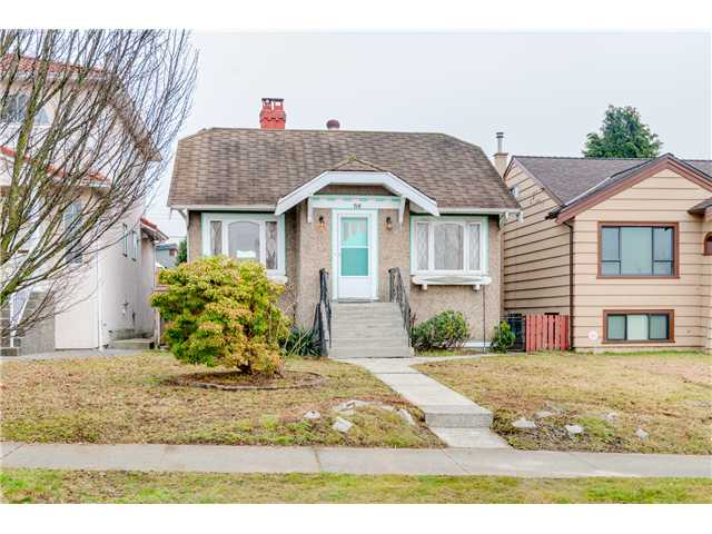 Main Photo: 716 CASSIAR ST in Vancouver: Renfrew VE House for sale (Vancouver East)  : MLS® # V1102888