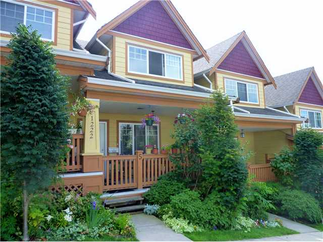 Main Photo: # 5 1222 CAMERON ST in : Uptown NW Townhouse for sale : MLS(r) # V911774