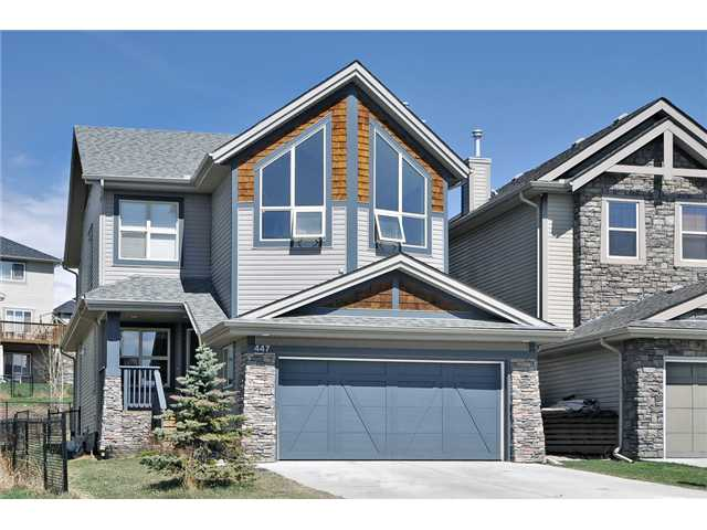 Main Photo: 447 ST MORITZ Drive SW in CALGARY: Springbank Hill House for sale (Calgary)  : MLS(r) # C3567278
