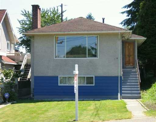 "Main Photo: 314 HOLMES ST in New Westminster: The Heights NW House for sale in ""The Heights"" : MLS®# V598958"