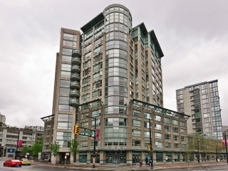 Main Photo: 1406 283 DAVIE Street in Vancouver: Yaletown Condo for sale (Vancouver West)  : MLS(r) # V1007992