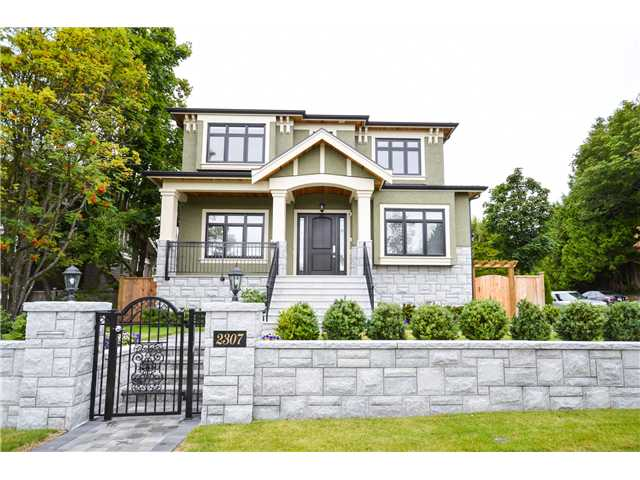Main Photo: 2307 W 45th Ave in Vancouver: Kerrisdale House for sale (Vancouver West)