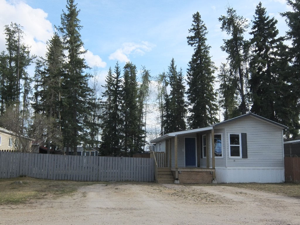 Main Photo: 18 Evergreen Mobile Park in Whitecourt: Mobile for sale : MLS(r) # 43376