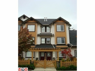 Main Photo: 38 8717 159TH Street in Surrey: Fleetwood Tynehead Home for sale ()  : MLS®# F1027654