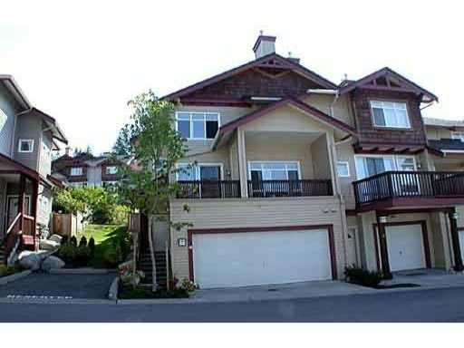 "Main Photo: 60 15 FOREST PARK Way in Port Moody: Heritage Woods PM Townhouse for sale in ""DISCOVERY RIDGE"" : MLS®# V1002376"