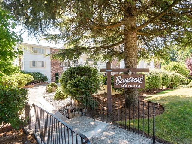 "Main Photo: 203 15010 ROPER Avenue: White Rock Condo for sale in ""Baycrest"" (South Surrey White Rock)  : MLS® # F1417713"