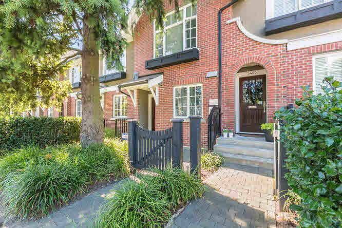 Main Photo: 5463 DUNBAR STREET in Vancouver: Dunbar Townhouse for sale (Vancouver West)  : MLS®# V1142265