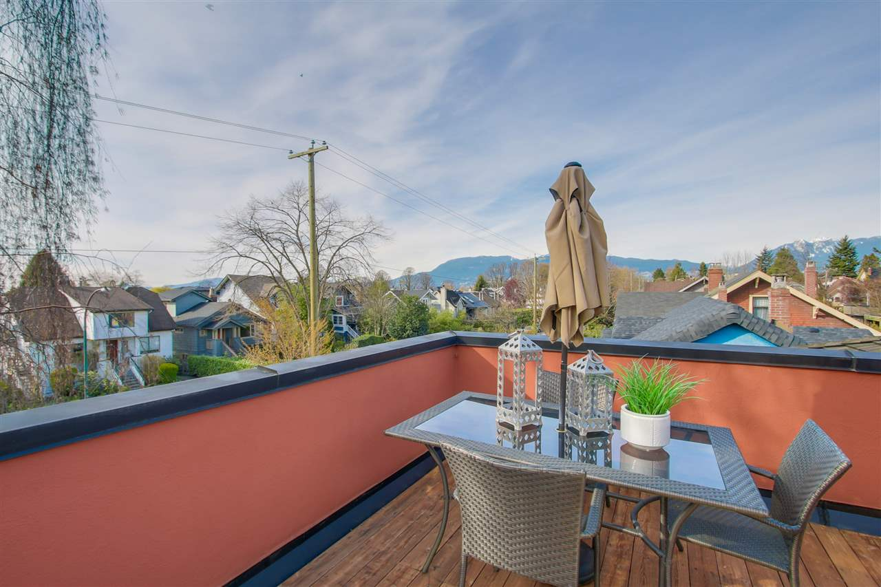 Photo 18: 1380 MAPLE STREET in Vancouver: Kitsilano Townhouse for sale (Vancouver West)  : MLS® # R2049396
