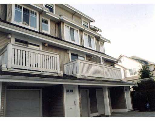Main Photo: 35 2927 FREMONT ST in Port_Coquitlam: Riverwood Townhouse for sale (Port Coquitlam)  : MLS® # V273698