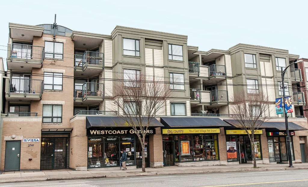Main Photo: 405 2741 E Hastings Street in Vancouver: Hastings East Condo for sale (Vancouver East)  : MLS®# V1031073