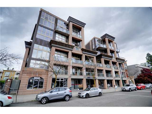 "Main Photo: # 311 1529 W 6TH AV in Vancouver: False Creek Condo for sale in ""SOUTH GRANVILLE LOFTS"" (Vancouver West)  : MLS® # V947302"