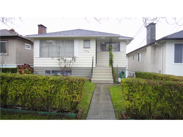 Main Photo: 4952 CHATHAM ST in Vancouver: Collingwood VE House for sale (Vancouver East)  : MLS® # V1040445
