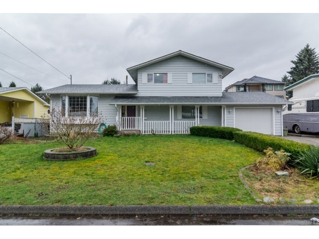 Main Photo: 2076 Majestic Crescent in Abbotsford: House for sale : MLS® # R2040664