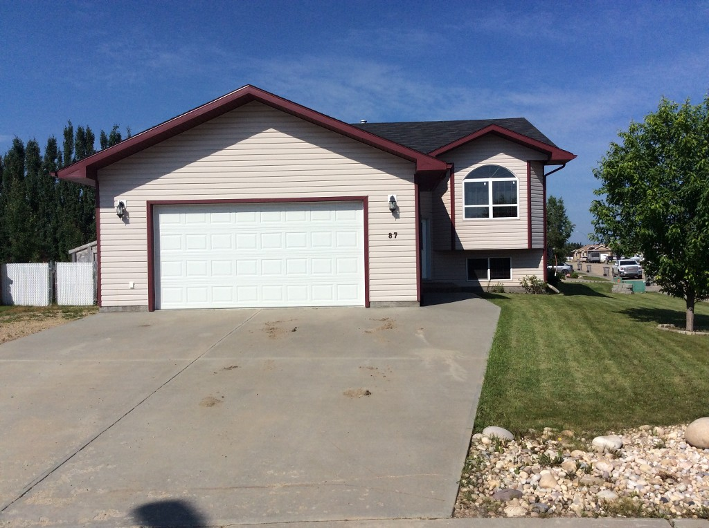 Main Photo: 87 Poplar Drive in Whitecourt: House for sale : MLS(r) # 44080