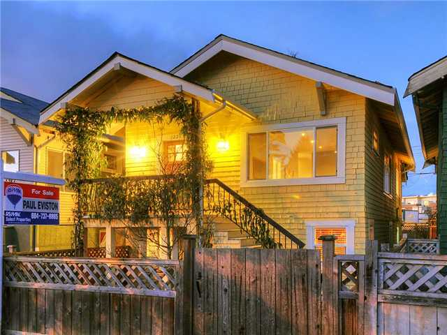 Main Photo: 1221 E 22ND Avenue in Vancouver: Knight House for sale (Vancouver East)  : MLS® # V933337