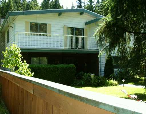 Main Photo: 4513 COVE CLIFF RD in North Vancouver: Deep Cove House for sale : MLS®# V597974