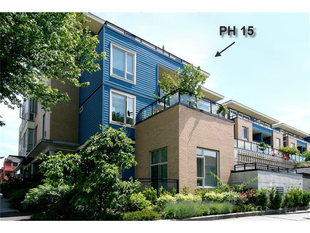 "Main Photo: PH15 688 E 17TH Avenue in Vancouver: Fraser VE Condo for sale in ""MONDELLA"" (Vancouver East)  : MLS® # V1013186"
