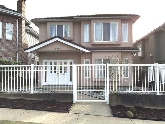 Main Photo: 3756 UNION ST in Burnaby: Willingdon Heights House for sale (Burnaby North)  : MLS®# V1105450