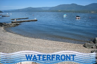 Main Photo: Prime Waterfront Building Lot in Eagle Bay Estates!