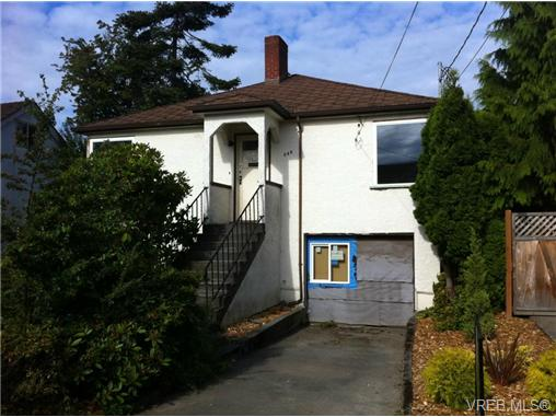 Main Photo: 244 Robertson Street in VICTORIA: Vi Fairfield East Single Family Detached for sale (Victoria)  : MLS® # 313056