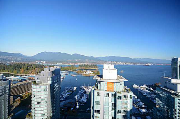 Main Photo: 2702 1499 W Pender Street in Vancouver: Condo for sale : MLS®# V1094155