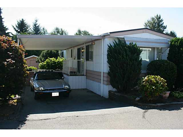 Main Photo: # 58 8560 156 ST in Surrey: Fleetwood Tynehead Manufactured Home for sale : MLS® # F1449007