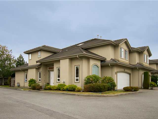 "Main Photo: 19 998 RIVERSIDE Drive in Port Coquitlam: Riverwood Townhouse for sale in ""PARKSIDE PLACE"" : MLS®# V973342"