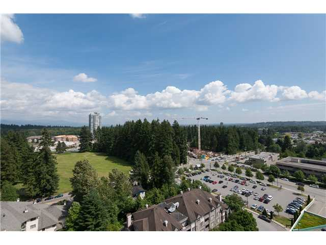 Main Photo: # 1801 1148 HEFFLEY CR in Coquitlam: North Coquitlam Condo for sale : MLS®# V1069249