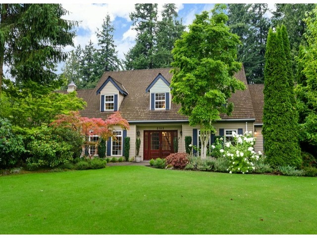 Main Photo: 2163 179TH ST in Surrey: Hazelmere House for sale (South Surrey White Rock)  : MLS® # F1429345