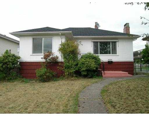 Main Photo: 3609 E 47TH AV in Vancouver: Killarney VE House for sale (Vancouver East)  : MLS® # V556650