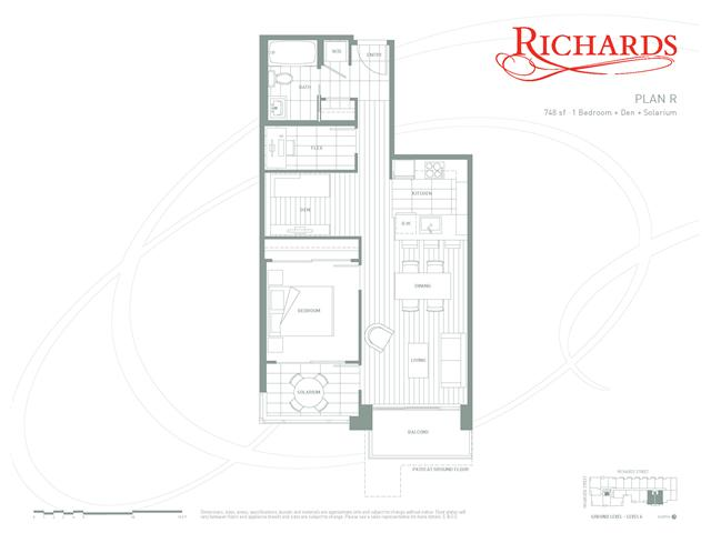 "Photo 10: 514 1088 RICHARDS Street in Vancouver: Yaletown Condo for sale in ""RICHARDS LIVING"" (Vancouver West)  : MLS® # V934725"