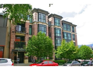 "Main Photo: 404 2515 ONTARIO Street in Vancouver: Mount Pleasant VW Condo for sale in ""ELEMENTS"" (Vancouver West)  : MLS(r) # V966401"