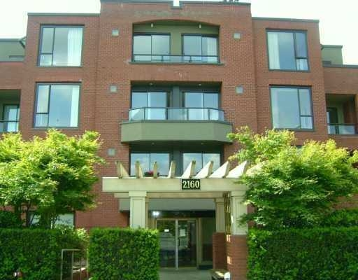Main Photo: 204-2160 Cornwall Ave. in Vancouver: Kitsilano Condo for sale (Vancouver West)  : MLS(r) # V603260