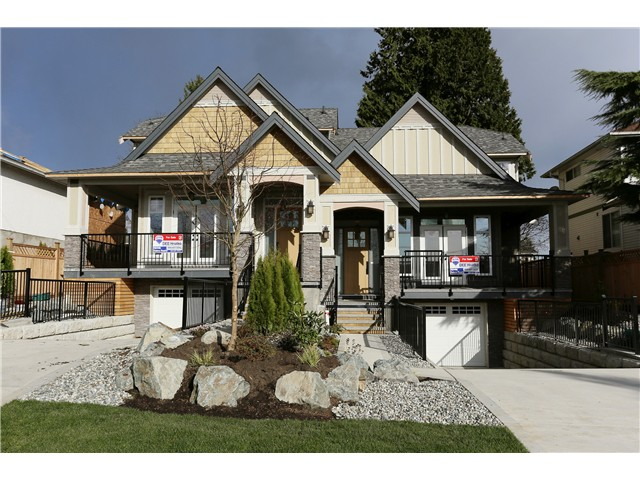 Main Photo: 289 TENBY Street in Coquitlam: Coquitlam West House 1/2 Duplex for sale : MLS®# V993619