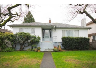 Main Photo: 356 W 62ND Avenue in Vancouver: Marpole House for sale (Vancouver West)  : MLS® # V996181