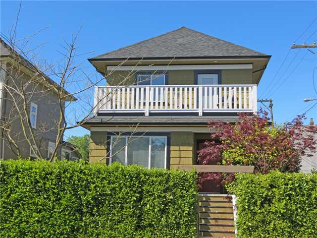Main Photo: 197 E 22ND Avenue in Vancouver: Main House Duplex for sale (Vancouver East)  : MLS(r) # V1006294