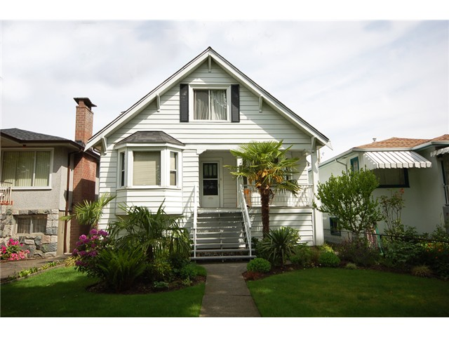 Main Photo: 2747 GRANT Street in Vancouver: Renfrew VE House for sale (Vancouver East)  : MLS® # V1008575
